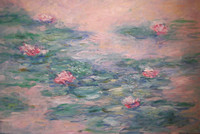 """Water Lillies"" 24x36"""